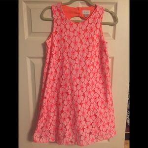 Girls Peach Dress
